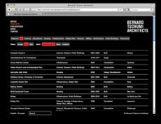 Project Projects — Bernard Tschumi Architects website
