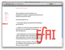 Project Projects — FfAI identity and website