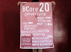 BCore 20th Anniversary Festival - Poster on the Behance Network