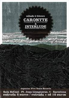 CARONTTE - Release show Poster on the Behance Network