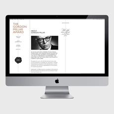 Gordon Millar Award - corporate and web design on the Behance Network