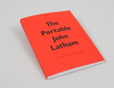 The Portable John Latham – Book | Alexander Lis