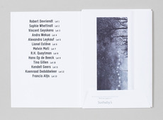 Wiels – Auction Catalogue | Alexander Lis