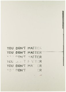 YOU DON'T MATTER