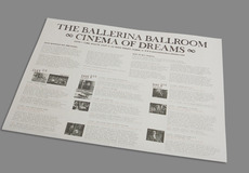Graphic Design Edinburgh / Nineteen Eighty Five 1985 / Ballerina Ballroom