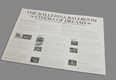 Graphic Design Edinburgh / Nineteen Eighty Five 1985 / Ballerina Ballroom