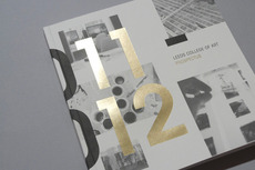 LCA Prospectus 2011/12 - Workshop Graphic Design & Print - Harrogate & Leeds, Yorkshire