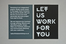 Let Us Work For You - Workshop Graphic Design & Print - Harrogate & Leeds, Yorkshire