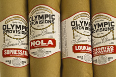 Olympic Provisions / Branding & Package Design, Logo, Signage / The Official Manufacturing Company