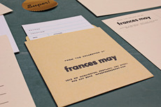 Frances May / Branding & Stationery / The Official Manufacturing Company