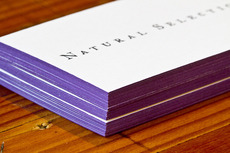 Natural Selection: Restaurant name, Branding and Identity design / The Official Manufacturing Company