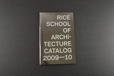 Rice Architecture Catalog 2009-10 : Thumb is directed by Luke Bulman & Jessica Young