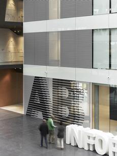 büro uebele // adidas laces signage system and interior design herzogenaurach 2011