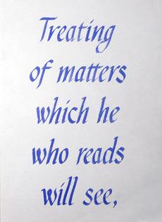 Treating of matters | Hato Press