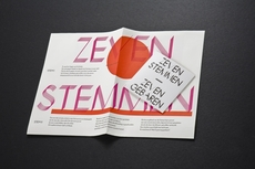 Felix Weigand - Zeven Stemmen - Zeven Gebaren, Poster and CD, 2008