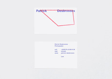 HelloMe — Patrick Desbrosses