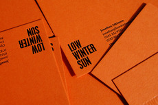 Because Studio — Design & Art Direction/Low Winter Sun