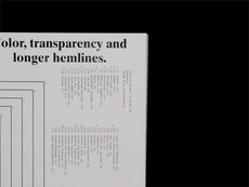 Color, Transparency and Longer Hemlines → Zak Klauck