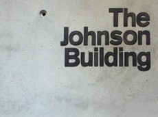 The Johnson Building identity | Cartlidge Levene
