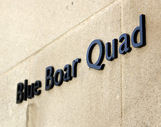 Blue Boar Quad Signage
