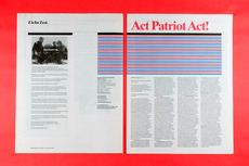 Project Projects — Act Patriot Act!