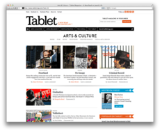Project Projects — Tablet Magazine identity and website