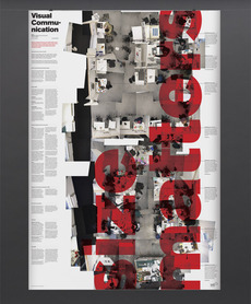 Patrick Mullen Design — IADT Dun Laoghaire, Viss Comm Broadsheet