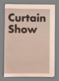 Curtain Show : James Langdon