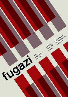fugazi at bernard's pub, 1989 - swissted
