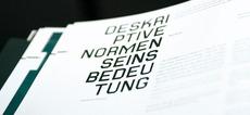 die form-der-norm / Raffael Stüken / Büro für Grafik Design
