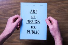Art vs. Design vs. Public : MATTHEW PEEL