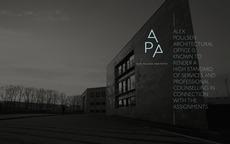 Visuel identitet til Alex Poulsen Arkitekter | Re-public
