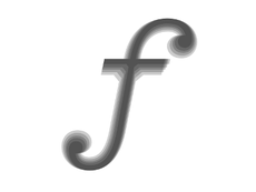"Dribbble - Superpolatin' Pitch ""f"" by Kris Sowersby"