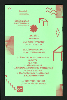 Konstfack Catalogue