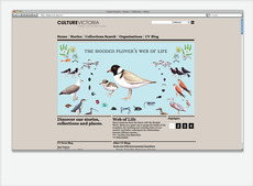 Culture Victoria Website | SUBFAUNA