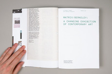 Project Projects — Matrix/Berkeley: A Changing Exhibition of Contemporary Art