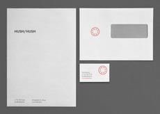 hush hush — branding - Astronaut