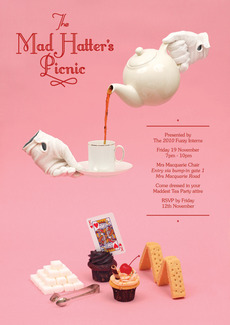 James Kape | Work: Mad Hatters Tea Party
