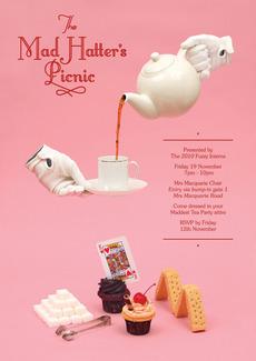 James Kape | Work: Mad Hatters Tea Party
