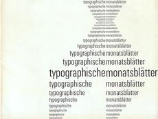 Display   Typographische Monatsblatter 1961 Number 5 June Emil Ruder   Collection