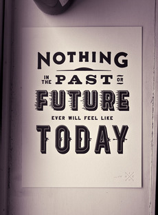 Nothing Past, Nothing Future - Matt Chase | Design, Illustration