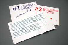 Pantograph Specimen : The Exercises