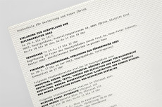ZHDK - Resort – Grafiker, Webdesign, Grafik Design, Gestaltung, Atelier, Agentur, Zürich