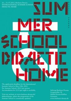 Internationale Sommerschule der Stiftung Bauhaus Dessau
