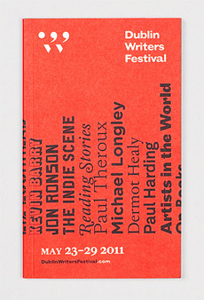 Dublin Writers Festival   Aad