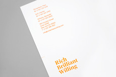 Project Projects — Rich, Brilliant, Willing identity