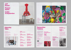 Serpentine Gallery – Identity 2009 | Identity | Graphic Thought Facility