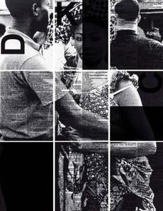 MoMA | Ecstatic Alphabets/Heaps of Language | Black Dada