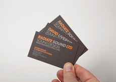 Bradley Rogerson Design Journal » Radiate Sound Identity