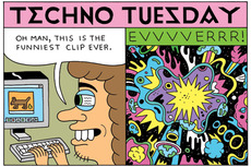 Techno Tuesday » Best Clip Ever